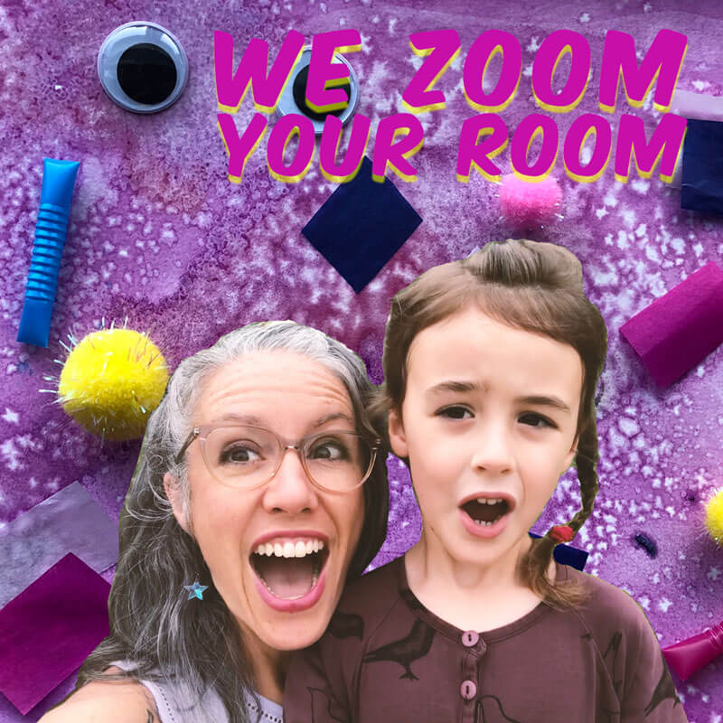 Virtual Backgrounds from WE ZOOM YOUR ROOM